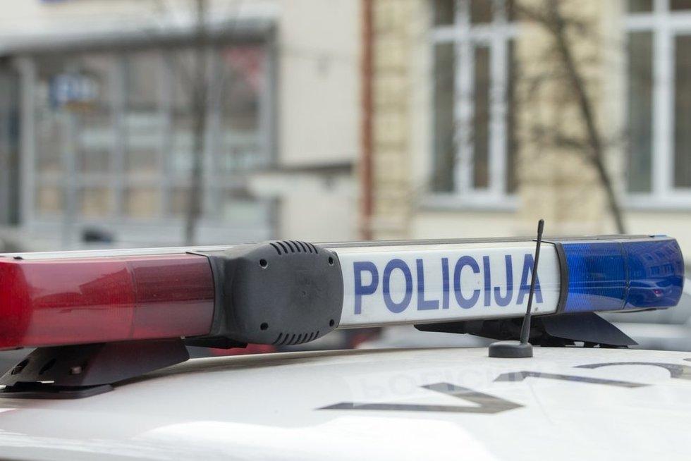 Policija (Fotodiena/Kristupas Kolodzeiskis) (nuotr. Fotodiena.lt)