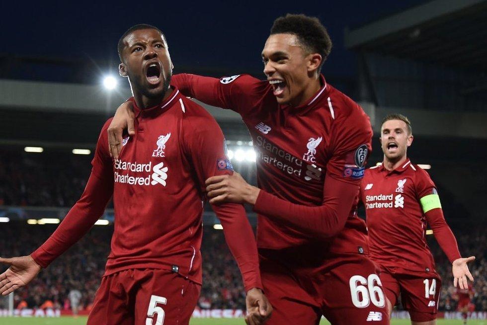 """Liverpool"" smeigė tris smūgius (nuotr. SCANPIX)"