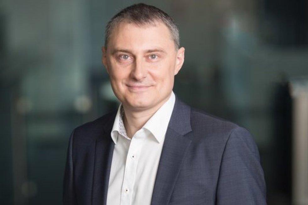 """""""Swedbank"""" skaitmeninės plėtros vadovas Gediminas Misevičius (nuotr. asm. archyvo)"""