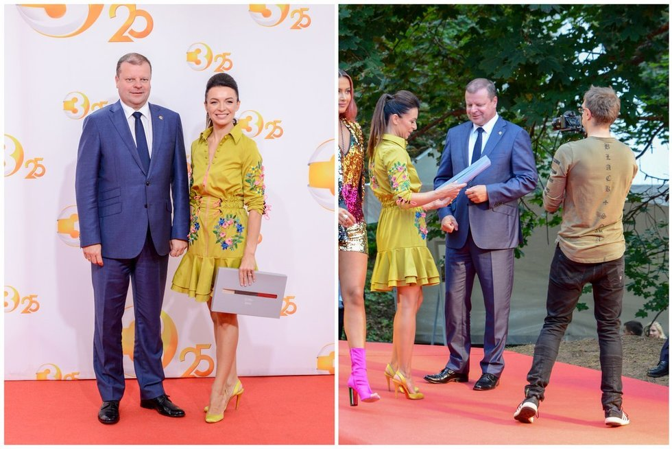 TV3 naujojo sezono atidaryme raudonuoju kilimu žengė išsipusčiusios žvaigždės (tv3.lt fotomontažas)