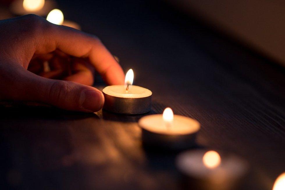 Žvakė (nuotr. fotodiena/Justino Auškelio)