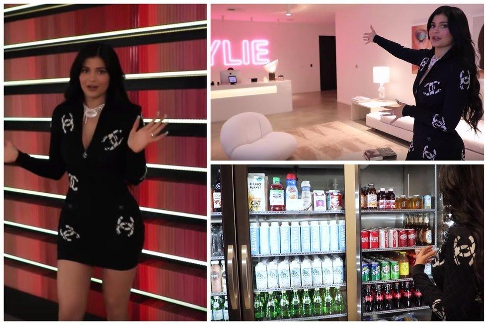 Kylie Jenner ofisas (nuotr. YouTube)