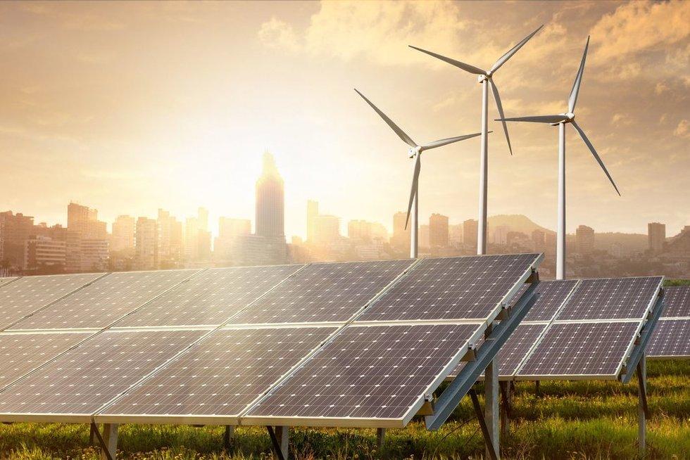 Atsinaujinanti energetika (nuotr. 123rf.com)