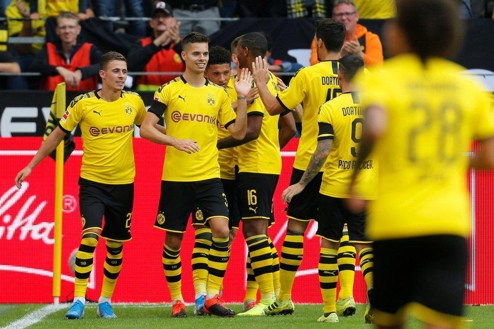 Dortmundo ekipa galingai pradėjo sezoną (nuotr. SCANPIX)
