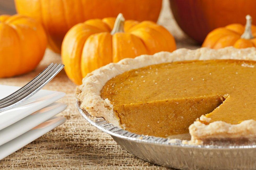 Rudeninis moliūgų pyragas. Shutterstock nuotr.
