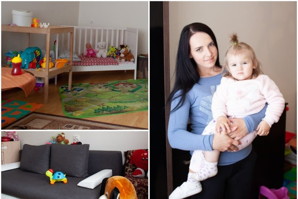 Vieniša mama iš Vilniaus parodė savo namus: nori viską keisti  (nuotr. TV3)