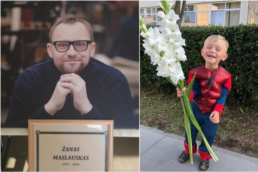 Prieš daugiau nei savaitę Lietuva atsisveikino su Ž. Maslausku (tv3.lt fotomontažas)