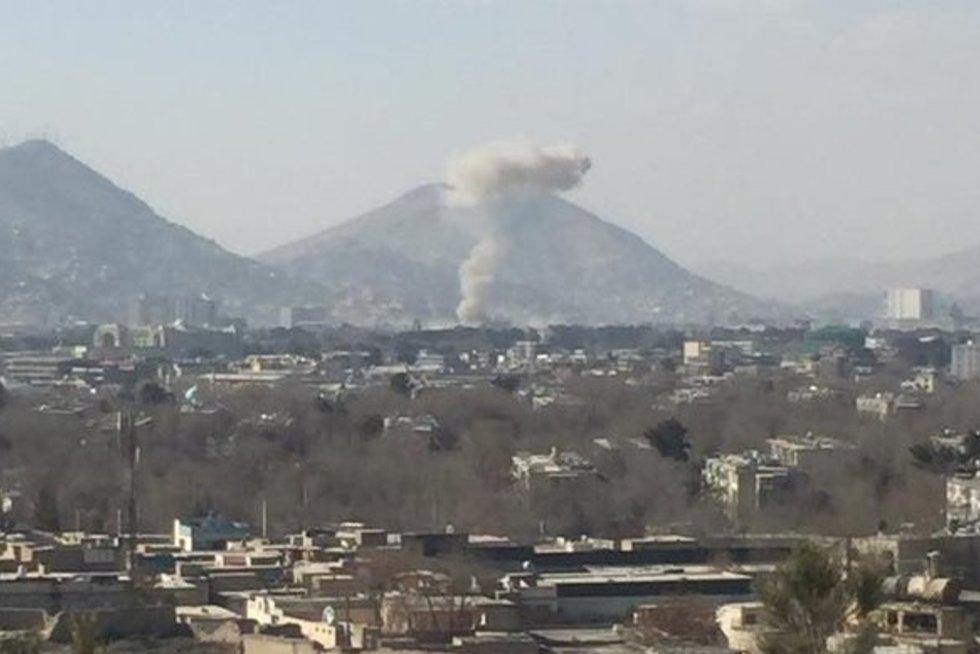 Kabulą sudrebino galingas sprogimas (nuotr. SCANPIX)