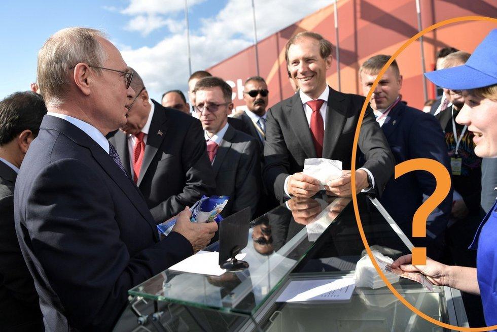 Putinui ledus pardavusi moteris dingo be pėdsakų (nuotr. SCANPIX) tv3.lt fotomontažas