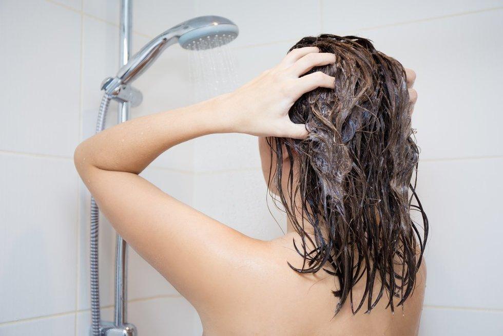 Plaukai (nuotr. 123rf.com)