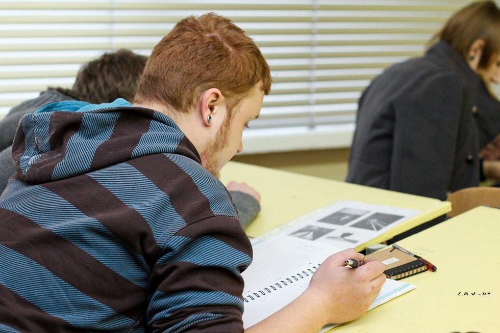 Studentai (nuotr. Fotodiena.lt)