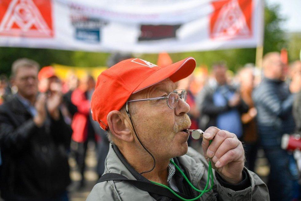 Protestas Vokietijoje (nuotr. SCANPIX)