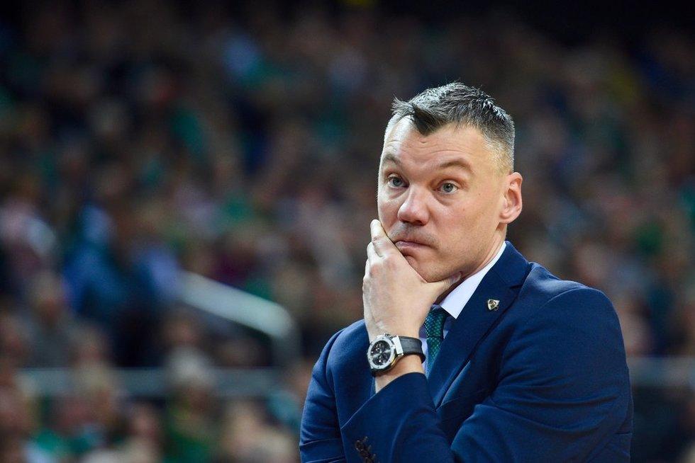 Šarūnas Jasikevičius (nuotr. Fotodiena.lt)