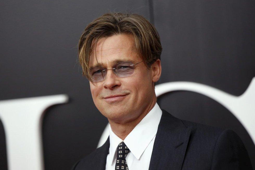 Bradas Pittas - Williamas Bradley Pittas (nuotr. SCANPIX)
