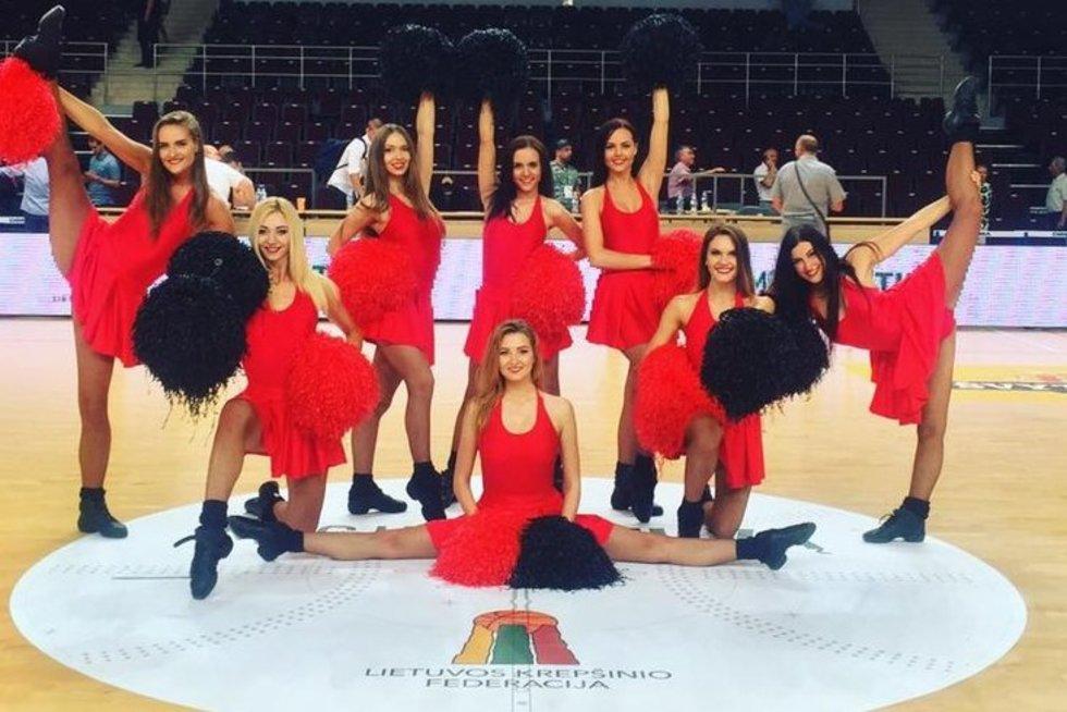 Krepšinio sirgalių kraują grandioziniame K95 šou kaitins aistringa šokėjų dvikova (nuotr. Organizatorių)