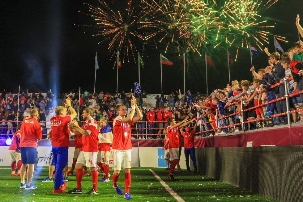 Rusija tapo čempione (nuotr. Organizatorių)