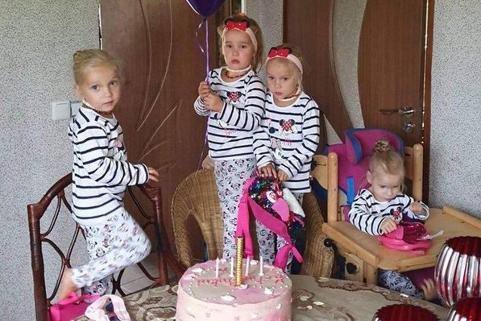 Garsusis Tauragės ketvertukas atšventė gimtadienį (nuotr. asm. archyvo)