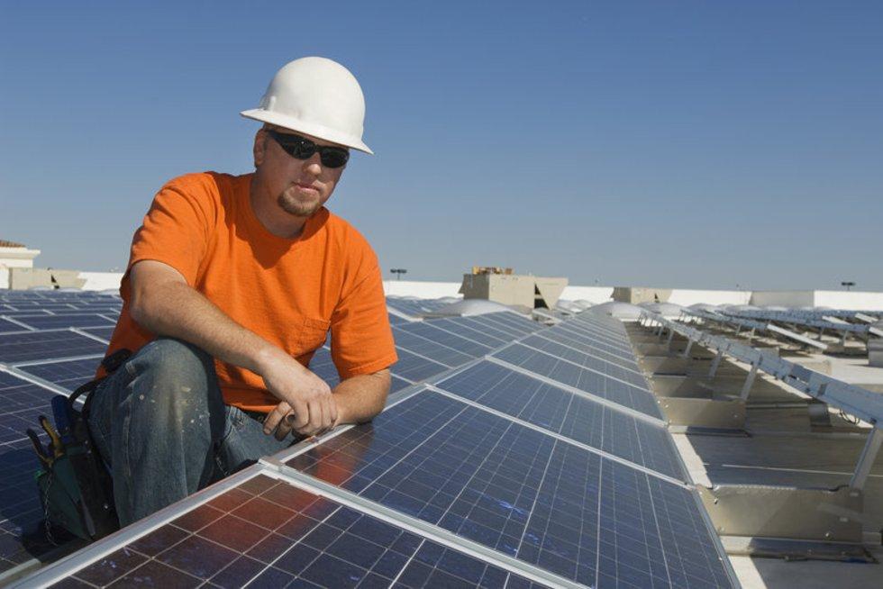 Saulės energija (nuotr. Alloverpress.ee)