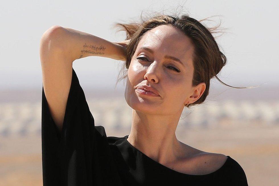 Angelina Jolie (nuotr. SCANPIX)