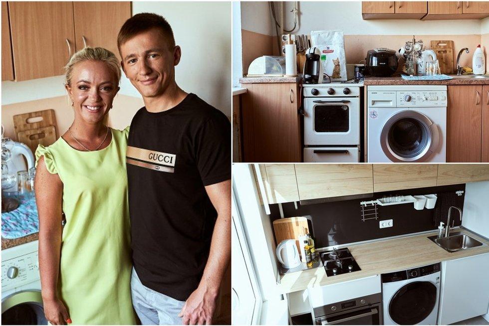 Atnaujino daugiabučio virtuvėlę (tv3.lt fotomontažas)