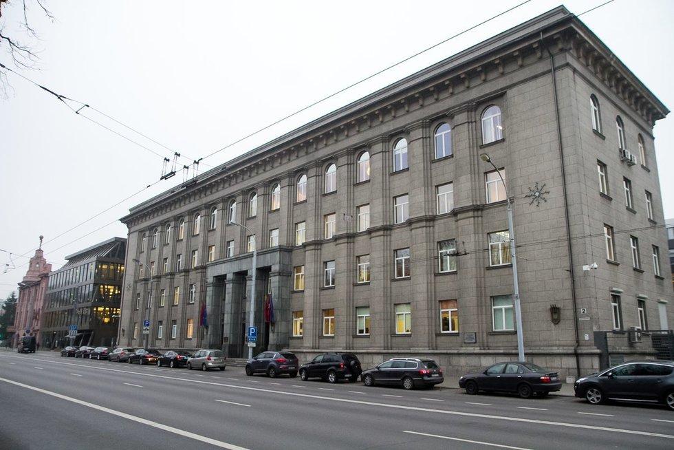 Lietuvos Respublikos Užsienio reikalų ministerija (nuotr. Tv3.lt/Ruslano Kondratjevo)