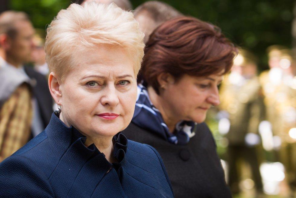Dalia Grybauskaitė ir Loreta Graužinienė (nuotr. BFL)