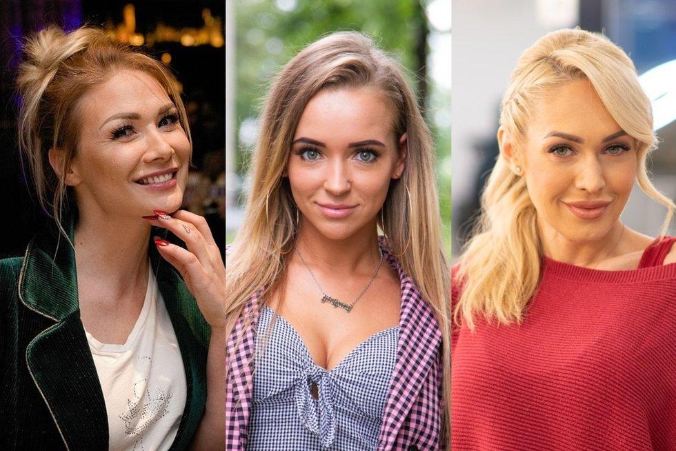 Natalija Bunkė, Monika Šalčiūtė, Oksana Pikul-Jasaitienė (tv3.lt fotomontažas)