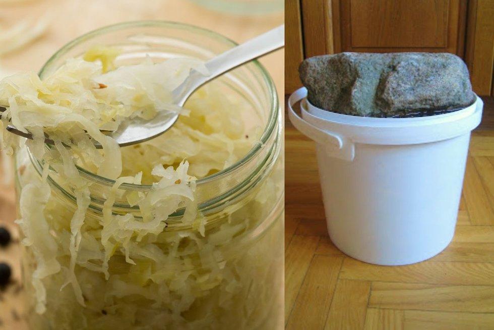 Kopūstų rauginimas (Nuotr. tinklaraštis Gera virtuvė)