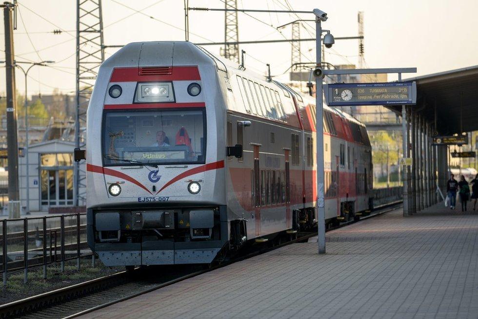 Geležinkelio stotis (nuotr. Fotodiena.lt)