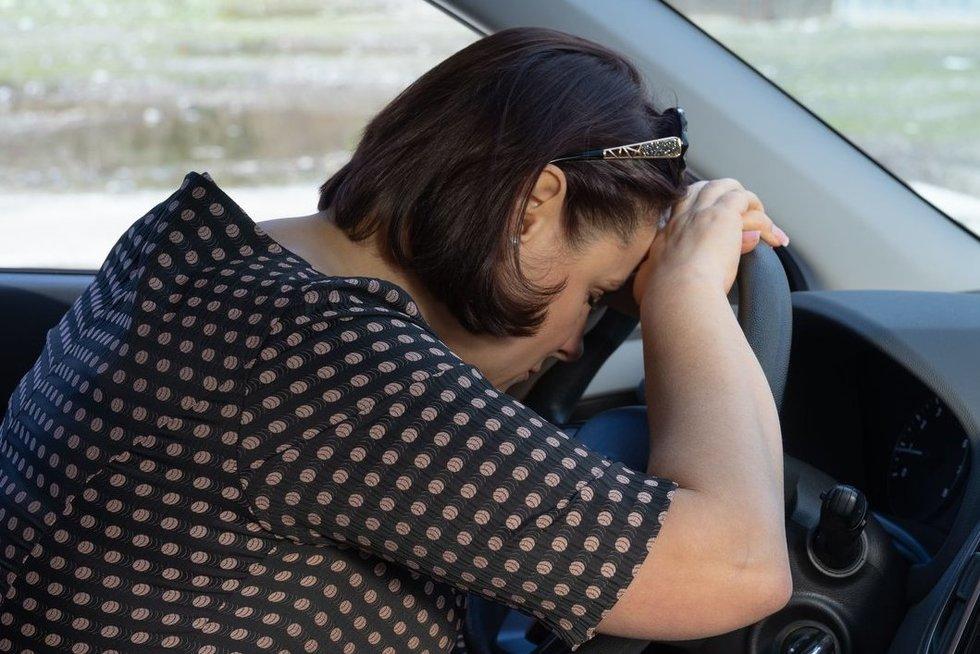 Vairuotoja  (nuotr. 123rf.com)