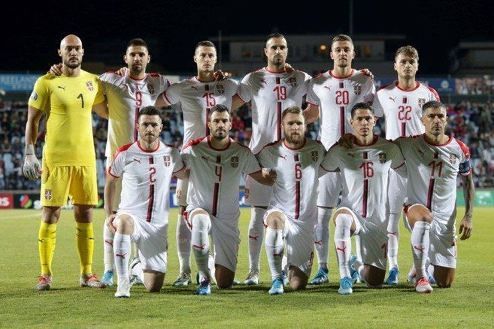 Serbijos futbolo rinktinė (nuotr. LFF.lt)