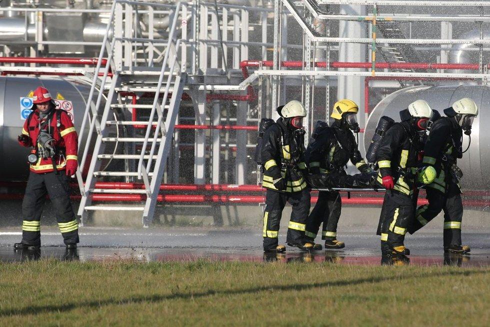 Įmonėje dirbusį pylėją pražudė plykstelėjęs ugnies pliūpsnis (nuotr. Egidijaus Jankausko/ve.lt)