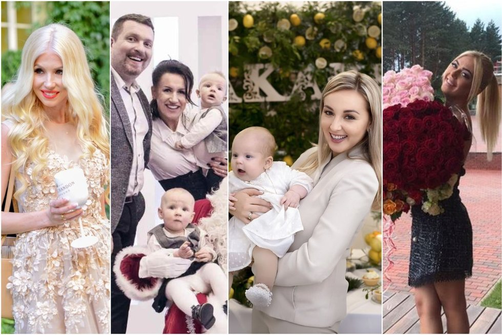 Lietuvos garsenybių įsimintiniausių švenčių akimirkos (tv3.lt fotomontažas)