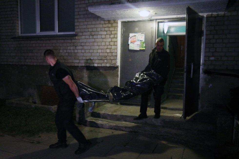 Rinktinės gatvėje daugiabutyje nužudytas vyriškis (nuotr. Broniaus Jablonsko)
