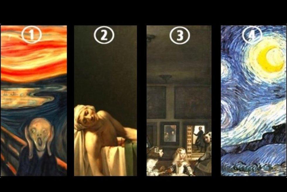 Pasirinkite vieną paveikslą