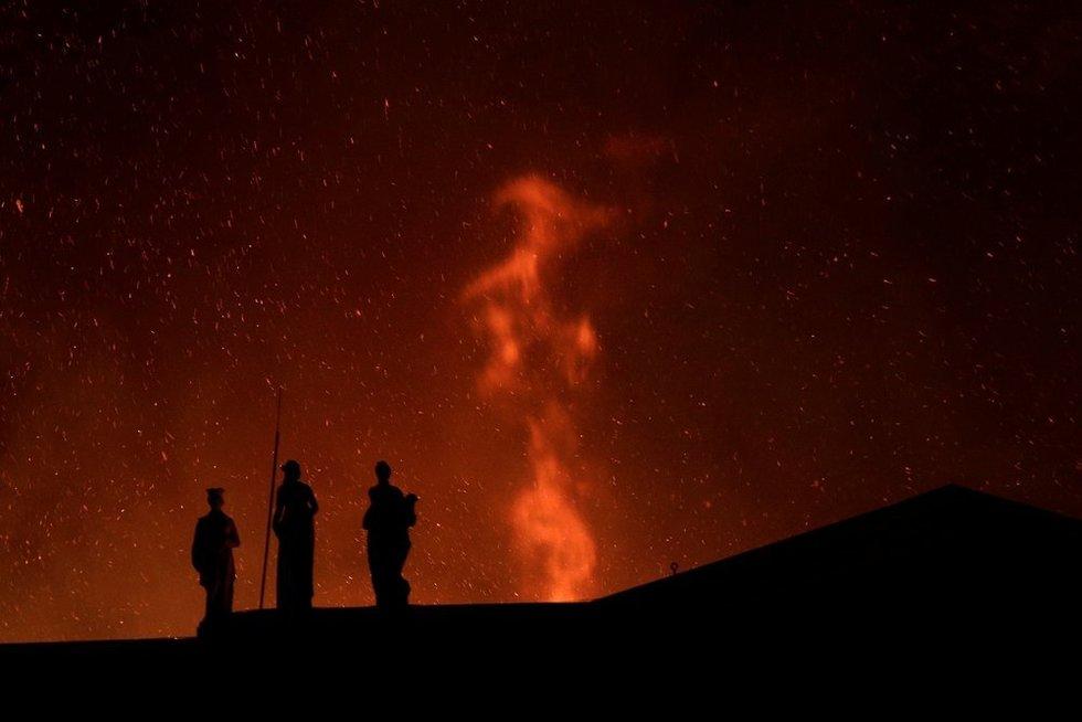 Brazilijos nacionaliniame muziejuje kilo didelis gaisras (nuotr. SCANPIX)