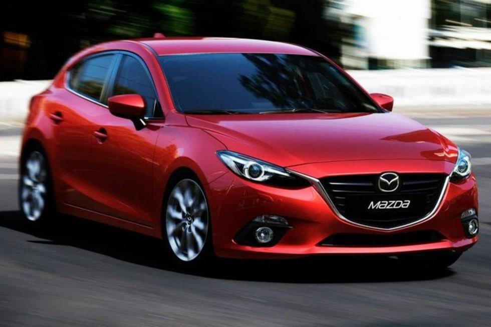 Mazda 3 (nuotr. Gamintojo)