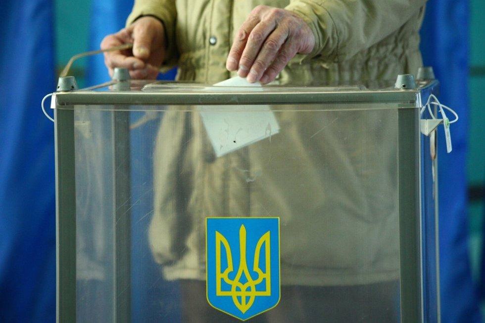 Rinkimai Ukrainoje (nuotr. SCANPIX)