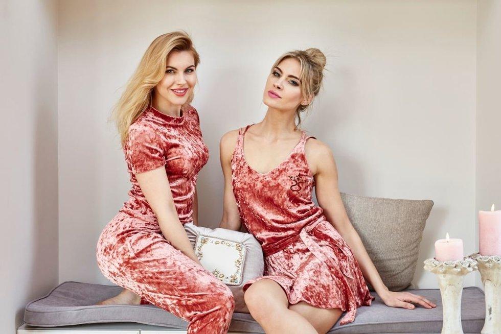 Deimantė Andriuškaitė ir Simona Starkutė (nuotr. Andriaus Burbos)