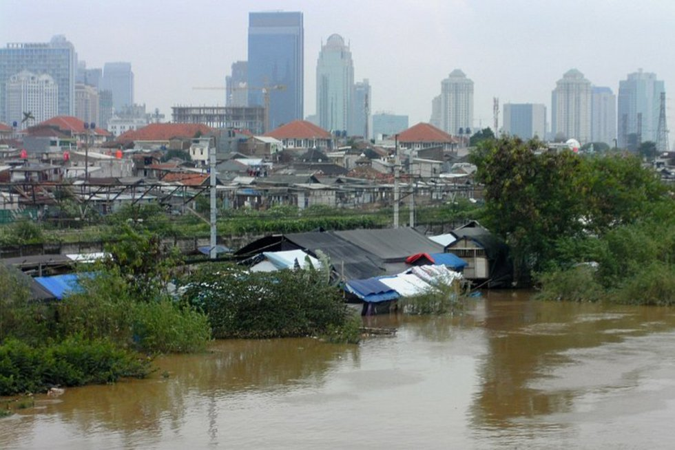 Potvynis Indonezijoje (nuotr. SCANPIX)