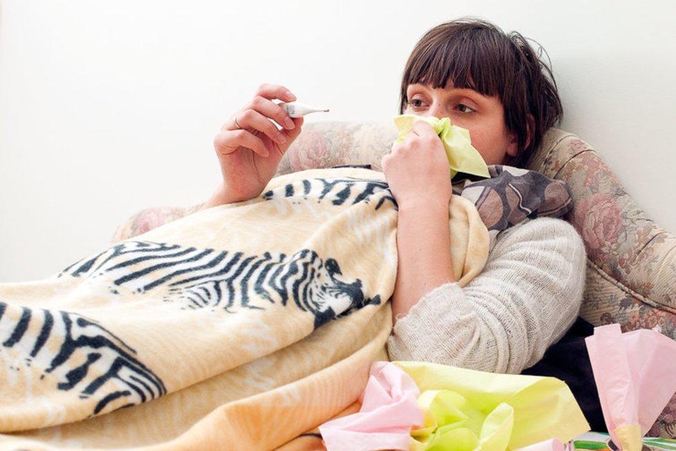 Gripas (nuotr. Fotodiena.lt/Simono Švitros)