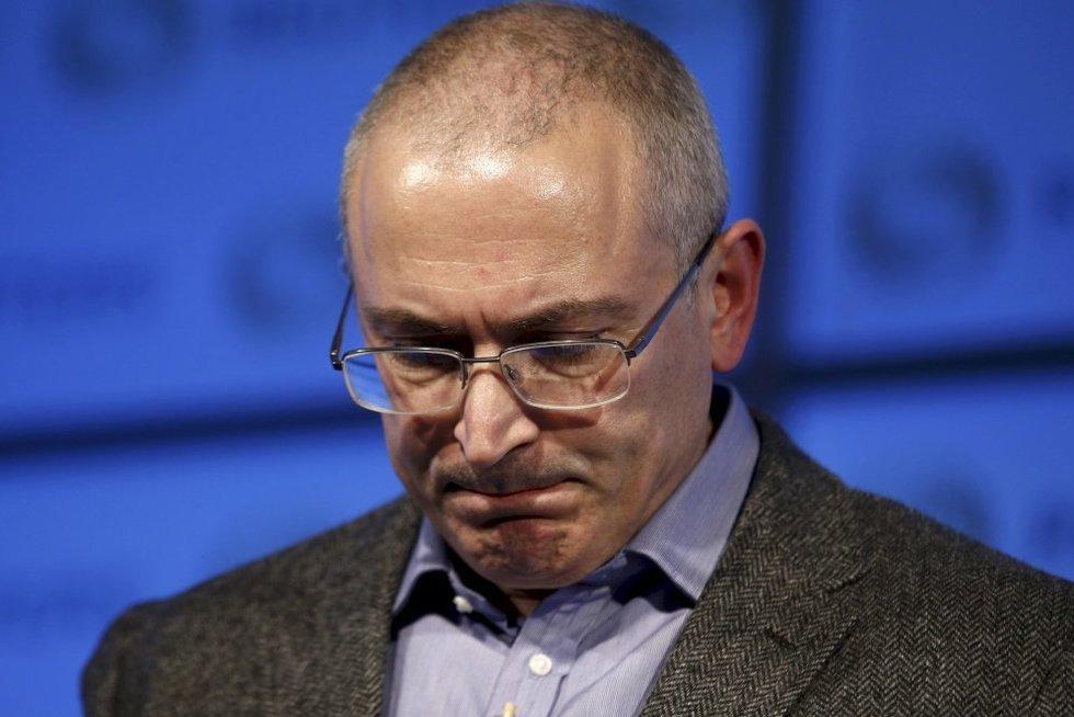 Michailas Chodorkovskis (nuotr. SCANPIX)
