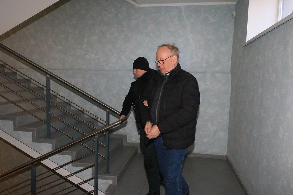 LAT teisėjas Egidijus Laužikas (nuotr. Broniaus Jablonsko)