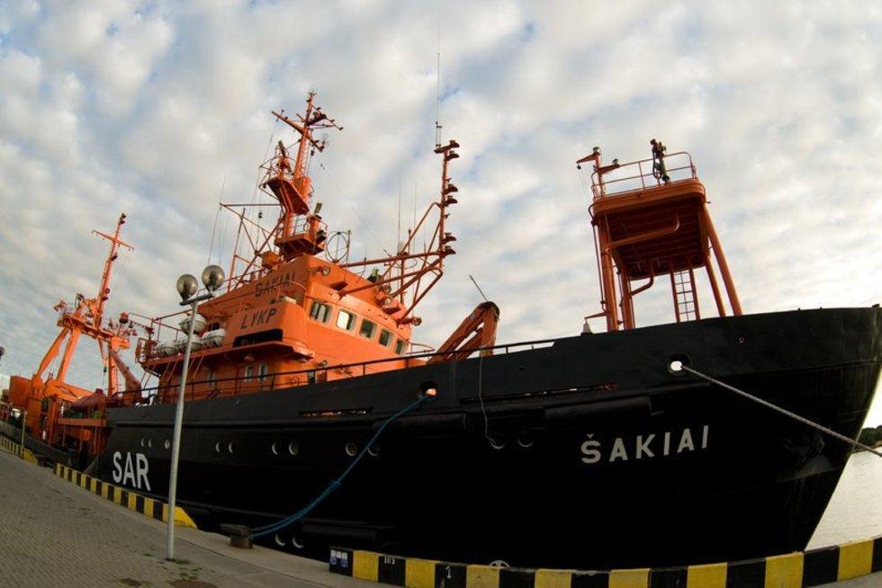 """Laivas """"Šakiai"""" (nuotr. SCANPIX)"""