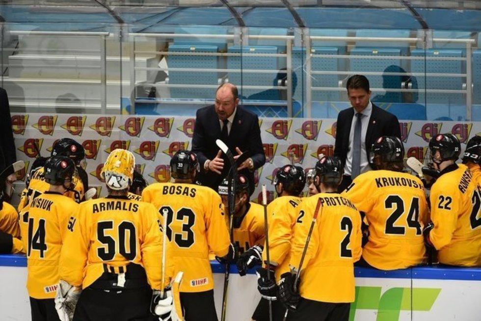 Danielis Lacroix, IIHF nuotr.