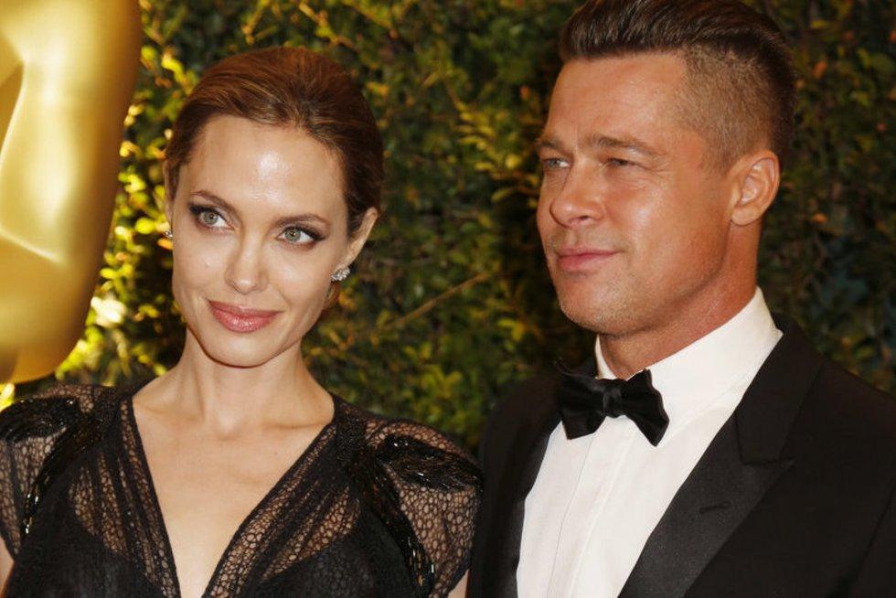 Angelina Jolie ir Bradas Pittas (nuotr. SCANPIX)