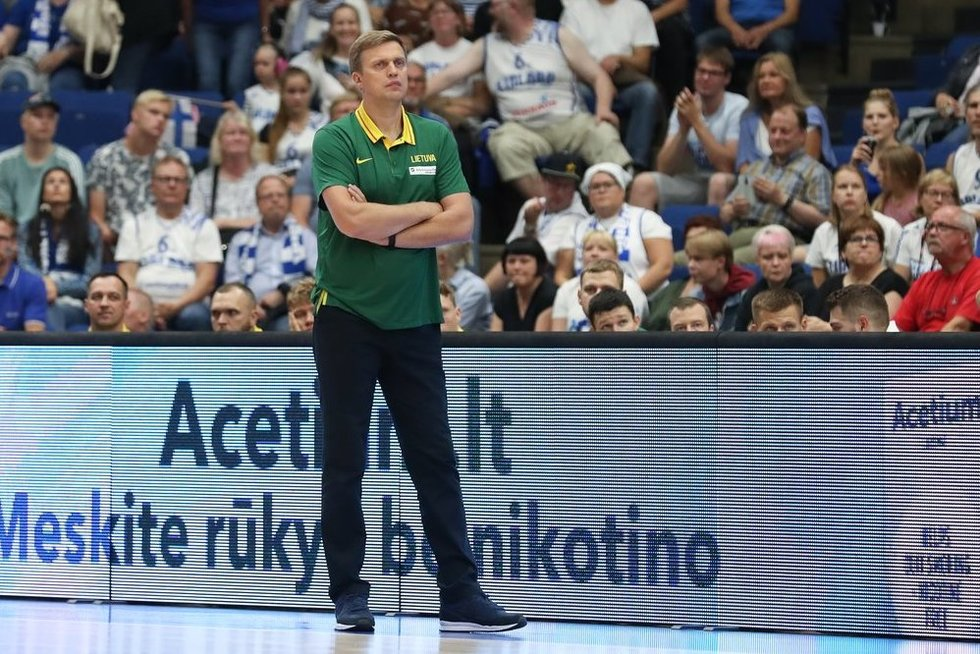 Rungtynės Suomija – Lietuva (nuotr. Fotodiena/Ville Vuorinen)