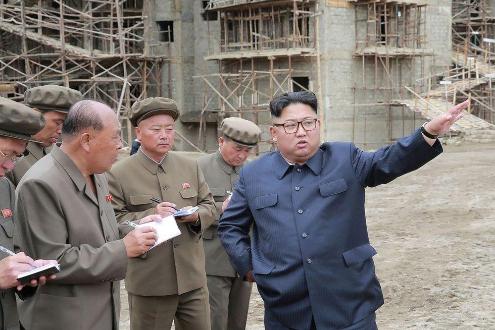 Šiaurės Korėja (nuotr. SCANPIX)