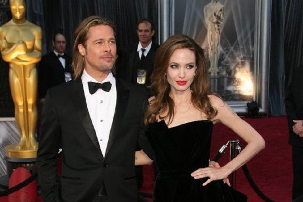 Bradas Pittas ir Angelina Jolie (nuotr. Vida Press)