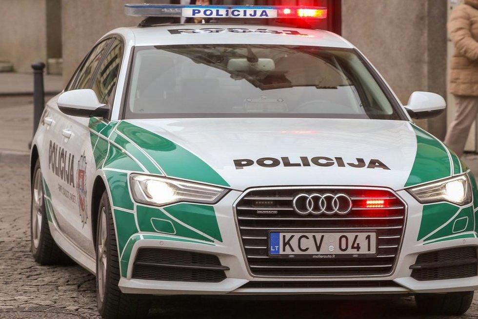 Policija (nuotr. Fotodiena/Arnas Strumila)